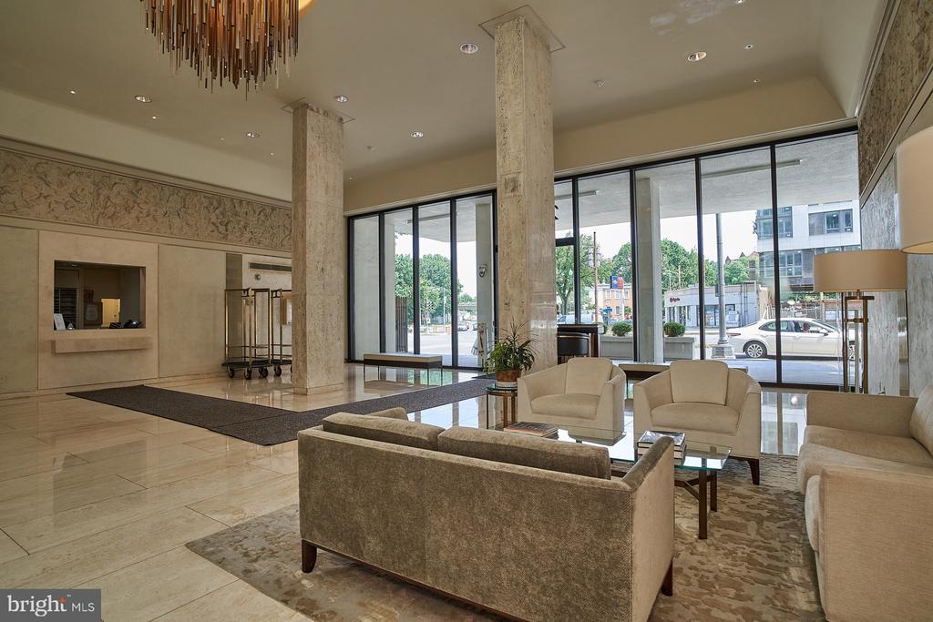 Entry Lobby of Building - 2700 VIRGINIA AVE NW #504, WASHINGTON
