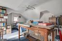 Upper Level Bedroom/Study - 5113 WESTERN AVE NW, WASHINGTON