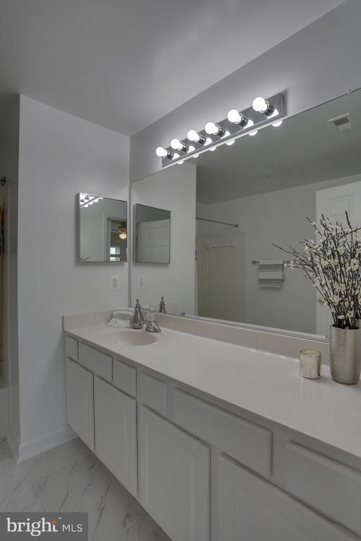 Master Bath and new flooring - more views - 11824 ETON MANOR DR #302, GERMANTOWN