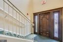 Secure entrance to condo - 11824 ETON MANOR DR #302, GERMANTOWN