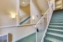 View of staircases - 11824 ETON MANOR DR #302, GERMANTOWN
