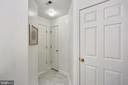 Another view of 2nd full bath and ceramic flooring - 11824 ETON MANOR DR #302, GERMANTOWN