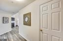 View from main entrance (see fireplace) - 11824 ETON MANOR DR #302, GERMANTOWN