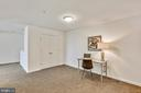 Office and closet to left. - 11824 ETON MANOR DR #302, GERMANTOWN