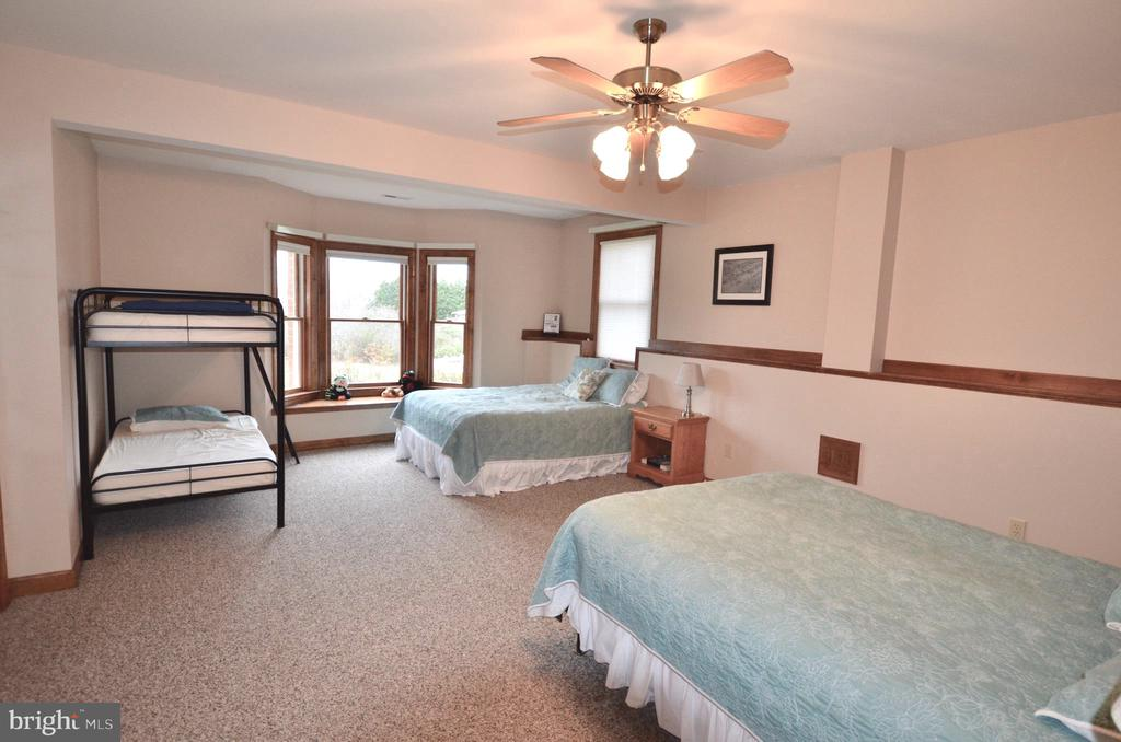 Spacious bedroom in lower level with full bathroom - 15805 BREAK WATER CT, MINERAL