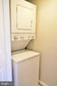 Laundry room with extra storage - 1504 LINCOLN WAY #312, MCLEAN