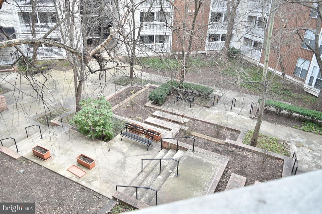 Balcony View - 1504 LINCOLN WAY #312, MCLEAN