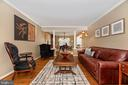Gorgeous front room - 8221 FOX HUNT LN, FREDERICK