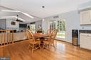 Eat in kitchen with gorgeous yard views - 8221 FOX HUNT LN, FREDERICK
