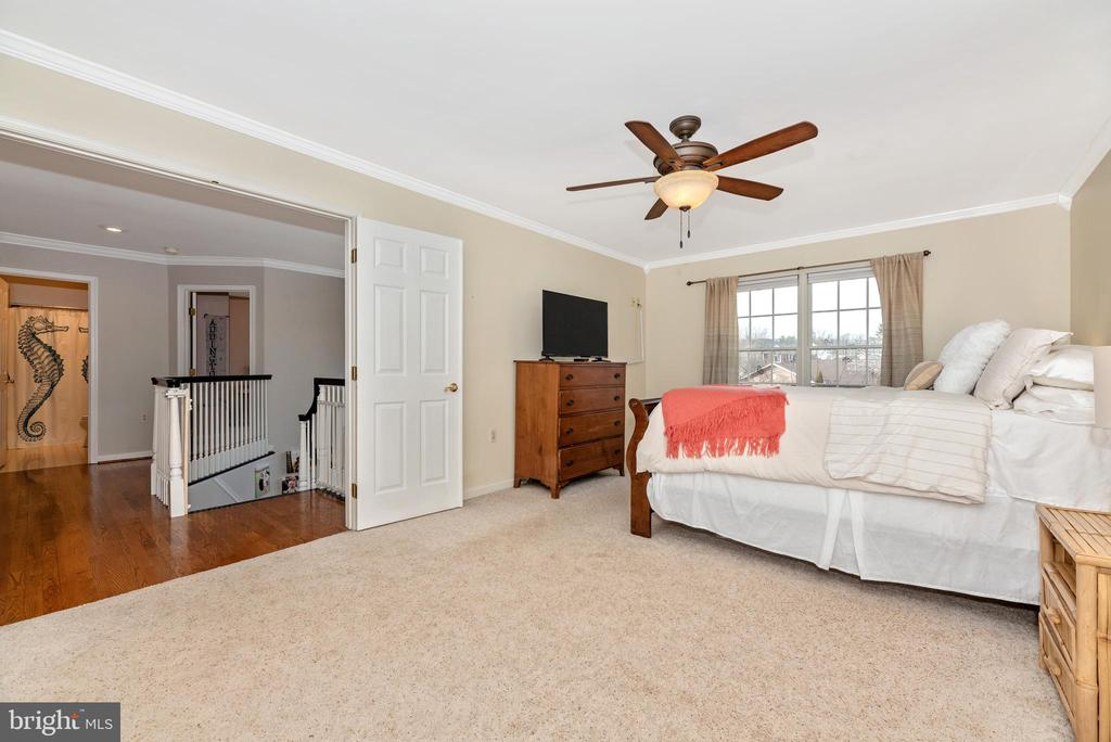 HUGE walk in closet and bonus room - 8221 FOX HUNT LN, FREDERICK