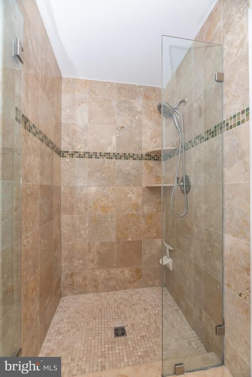 walk in shower - 8221 FOX HUNT LN, FREDERICK