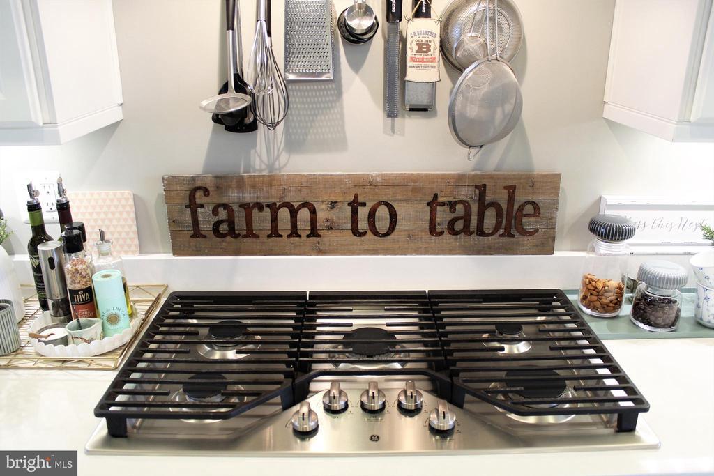 Five Burner Gas Cooking - 23100 LAVALLETTE SQ, BRAMBLETON