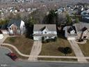 Arial view of home and Austin Ridge - 8 NASSAU CT, STAFFORD