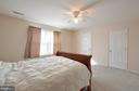 Master bedroom with large walk in closet - 8 NASSAU CT, STAFFORD