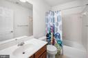 2ND FULL BATHROOM ON THE UPPER LEVEL - 10008 WILLOW RIDGE WAY, SPOTSYLVANIA