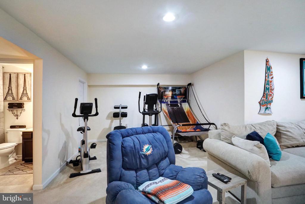 Recreation Room - 303 ALDERSHOT DR, MARTINSBURG