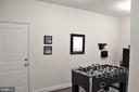 Lower Level Extended Family Foyer w/Garage Access - 23100 LAVALLETTE SQ, BRAMBLETON