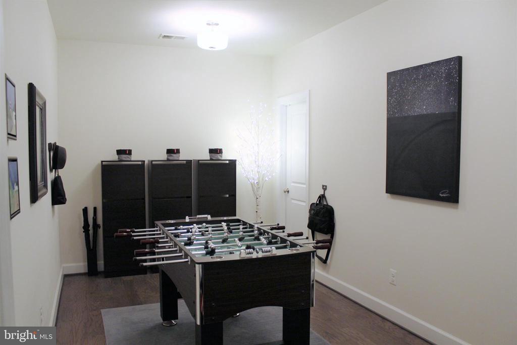 Lower Level Extended Family Foyer w/Closet - 23100 LAVALLETTE SQ, BRAMBLETON