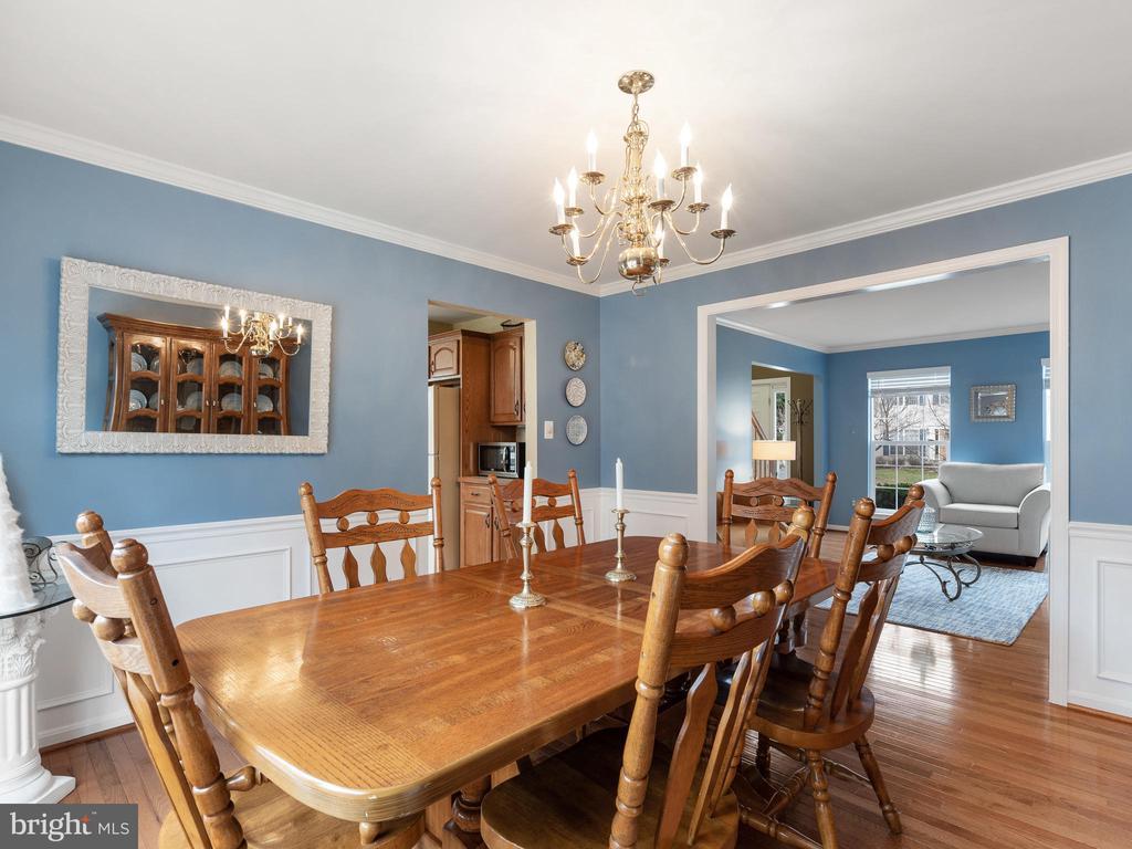 Dining Room - 15721 MARBURY HEIGHTS WAY, DUMFRIES