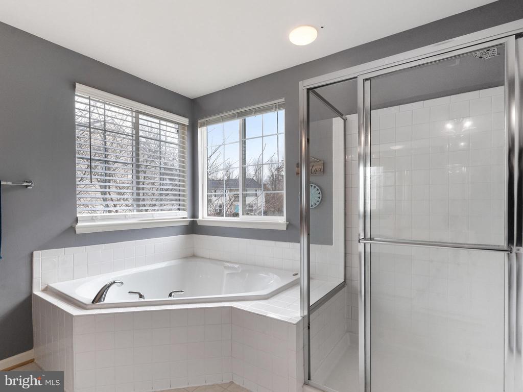 Master Bathroom with Garden Tub / Separate Shower - 15721 MARBURY HEIGHTS WAY, DUMFRIES