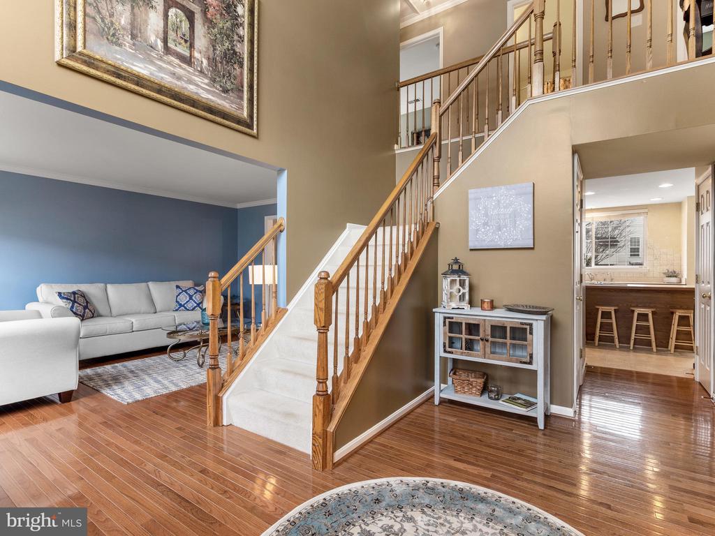 Open Foyer / Living Room - 15721 MARBURY HEIGHTS WAY, DUMFRIES