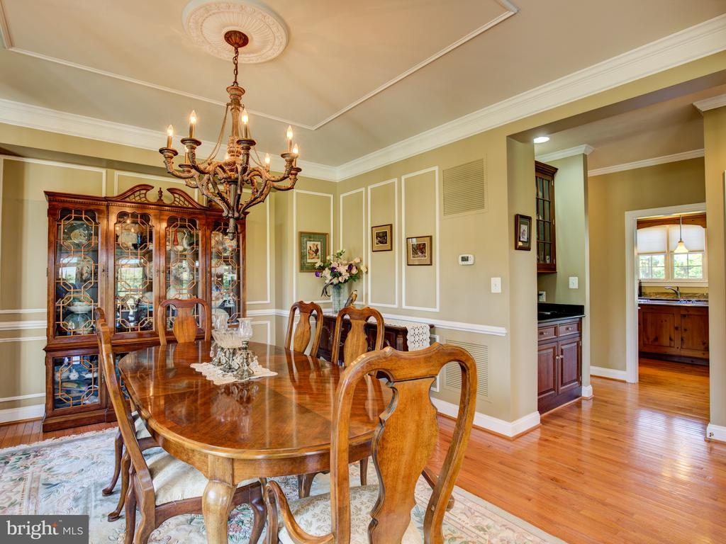 DINING ROOM - 34507 SNICKERSVILLE TPKE, BLUEMONT