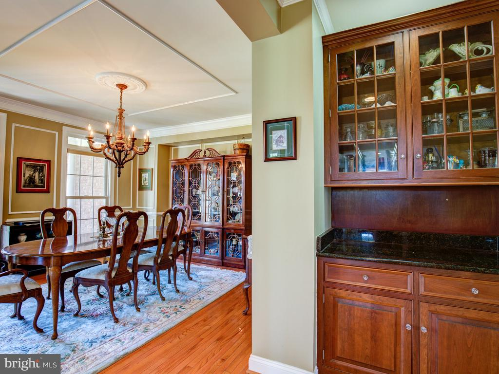 DINING ROOM, BUTLER'S PANTRY - 34507 SNICKERSVILLE TPKE, BLUEMONT
