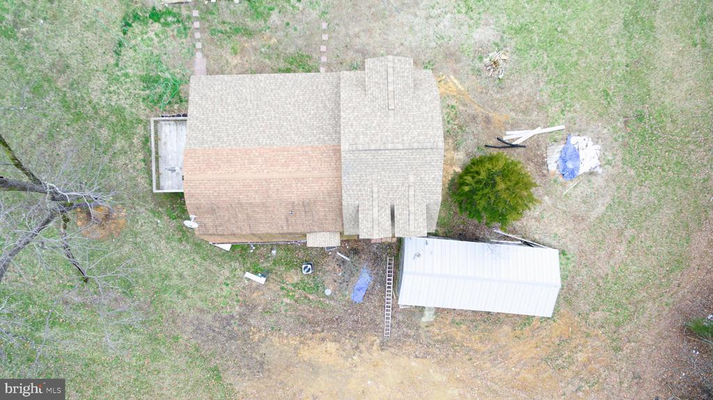 Aerial view of house - 33321 CONSTITUTION HWY, LOCUST GROVE