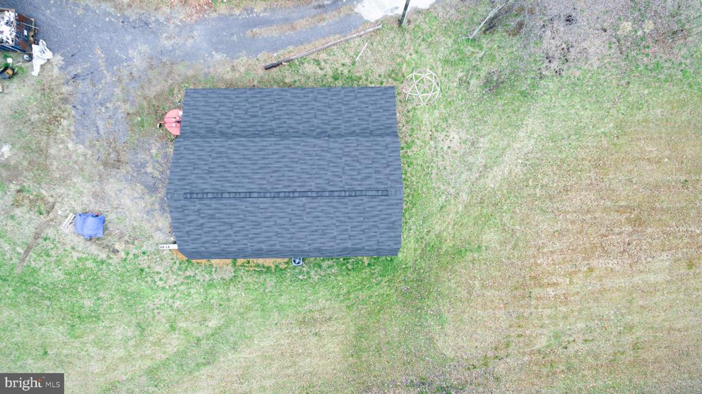 Aerial view of barn - 33321 CONSTITUTION HWY, LOCUST GROVE