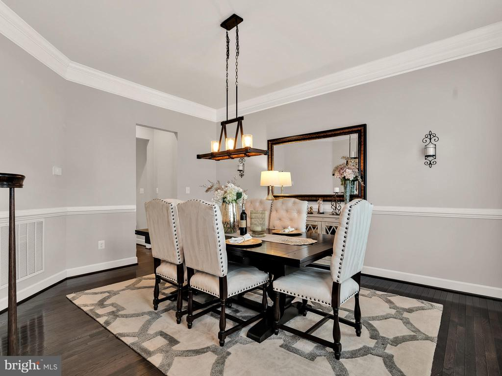 Formal dining room - 42545 KERSHAW PL, CHANTILLY