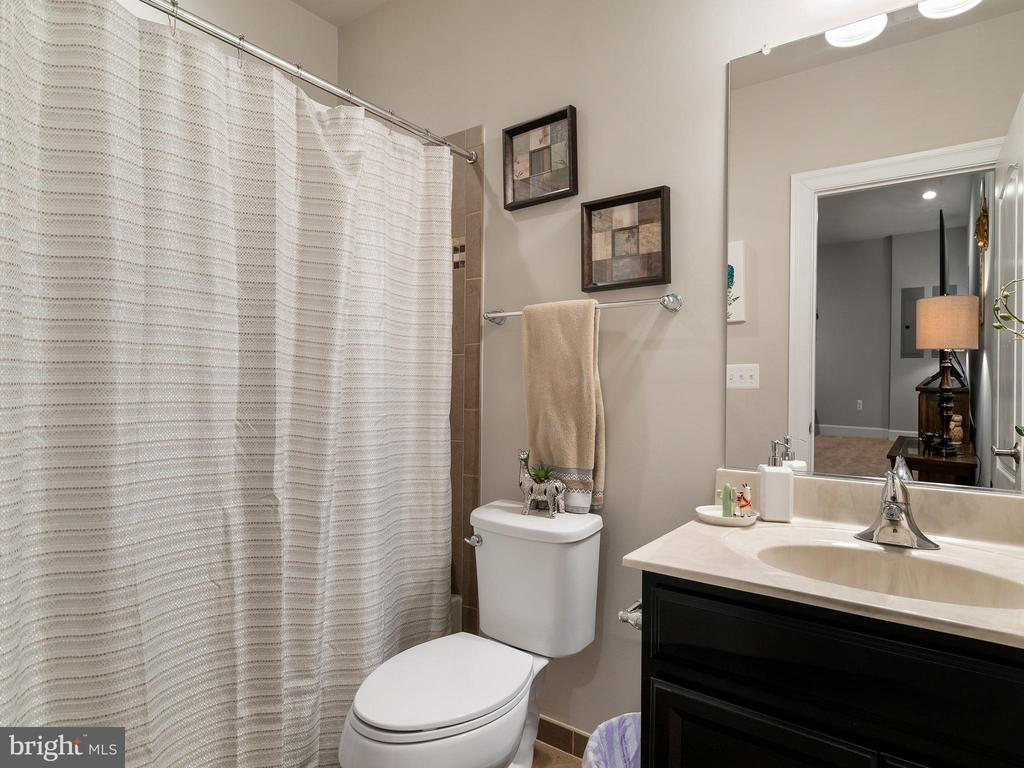 Lower level full bath - 42545 KERSHAW PL, CHANTILLY