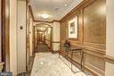 Beautiful elevator lobbies - 4821 MONTGOMERY LN #401, BETHESDA