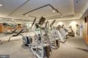 Exercise room - 4821 MONTGOMERY LN #401, BETHESDA