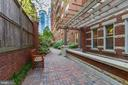 Edgemoor Condominium patio - 4821 MONTGOMERY LN #401, BETHESDA
