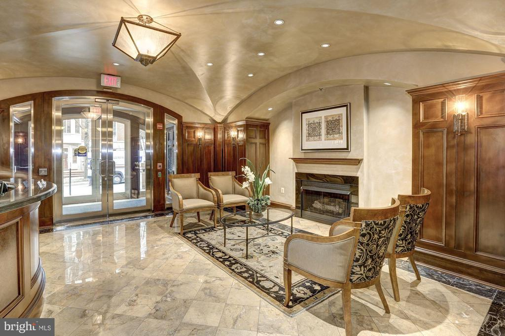 Exceptional lobby - 4821 MONTGOMERY LN #401, BETHESDA