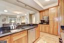 Gorgeous kitchen - 4821 MONTGOMERY LN #401, BETHESDA