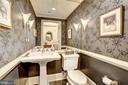 Powder room - 4821 MONTGOMERY LN #401, BETHESDA