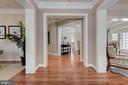 Wide-plank solid hardwood floors - 14732 RAPTOR RIDGE WAY, LEESBURG