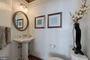 Main level powder room - 14732 RAPTOR RIDGE WAY, LEESBURG