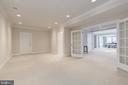 Bonus room great for fitness equipment or hobbies - 14732 RAPTOR RIDGE WAY, LEESBURG