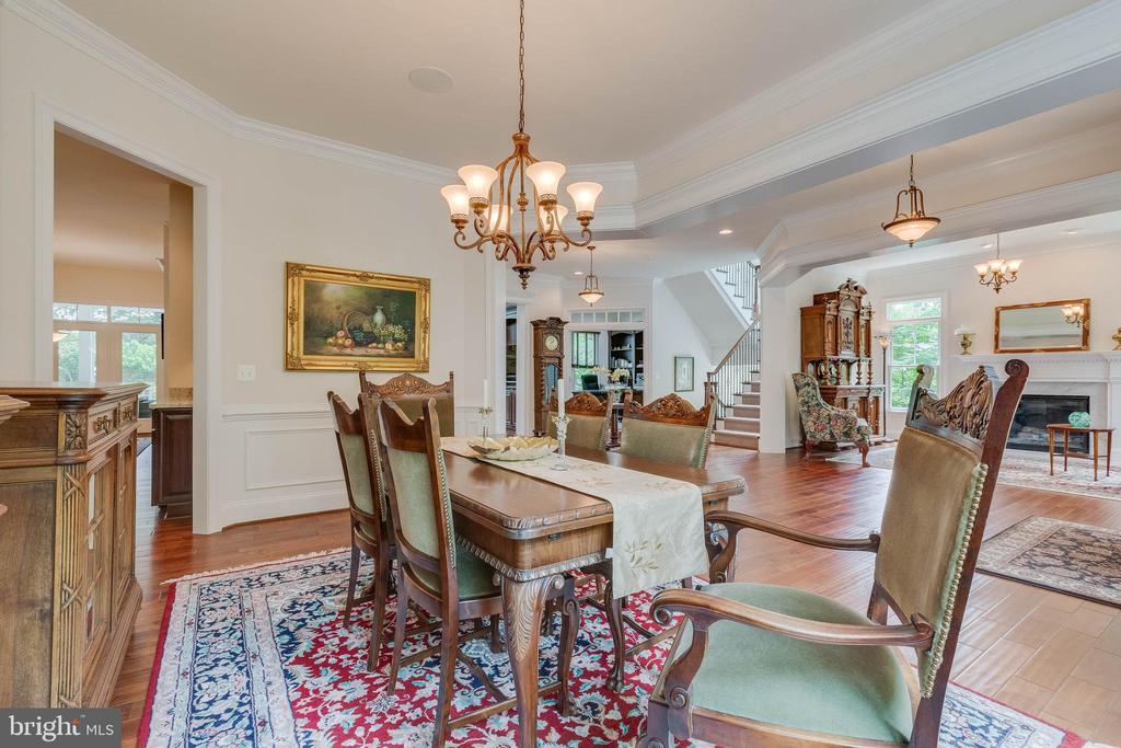 Dining Room to Butler's Pantry - 3003 WEBER PL, OAKTON