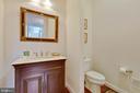 Guest Powder Bath, main level - 3003 WEBER PL, OAKTON