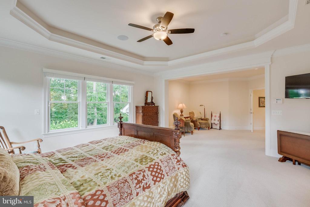Master Bedroom: ample floor space - 3003 WEBER PL, OAKTON