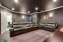 True Theater Room! Bring the popcorn! - 3003 WEBER PL, OAKTON