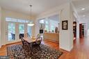 Breakfast to Family Room and Screened Porch - 3003 WEBER PL, OAKTON