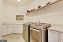 Laundry: Upper Level Convenience! - 3003 WEBER PL, OAKTON