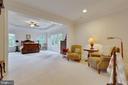 Master Bedroom Suite: front Sitting Room - 3003 WEBER PL, OAKTON