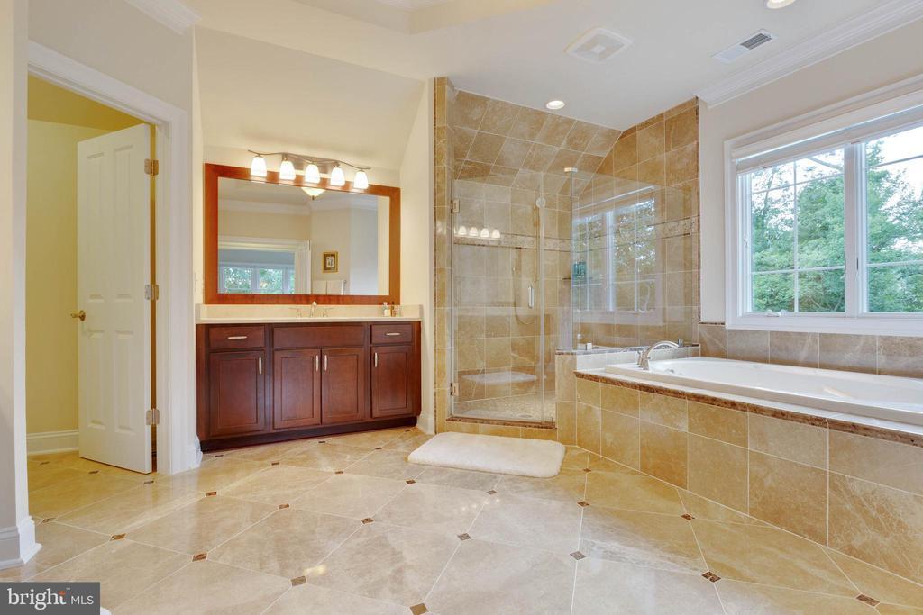 Master Bath: En-suite Luxury - 3003 WEBER PL, OAKTON