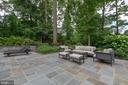 Expansive flagstone Patio for entertaining - 3003 WEBER PL, OAKTON
