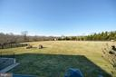 Deck View of Back Yard - 37894 ST FRANCIS CT, PURCELLVILLE